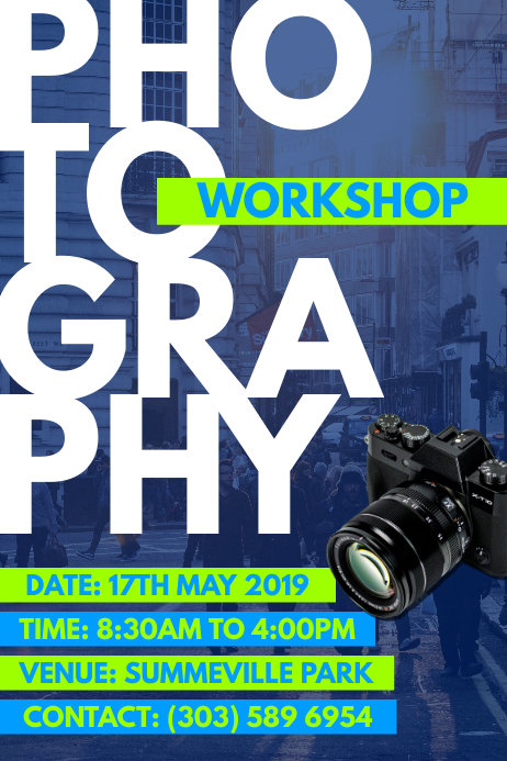 Photography Workshop Poster