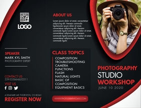 Photography Workshop with Experts Trifold Bro