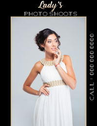 photoshoot photo shoot flyer template