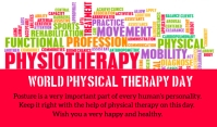 Physical Therapy Day Тег template