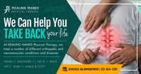 Physical Therapy Facebook Shared Image template
