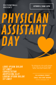 Physician Assistant Day Flyer Design Template