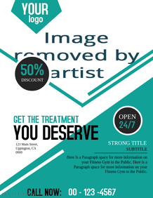 Physiotherapy Business Flyer Template