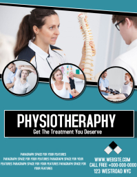 physiotherapy POSTER AD TEMPLATE