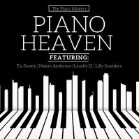 Piano Heaven Album Cover template