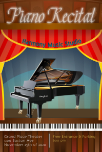 piano recital/piano concert/piano studio