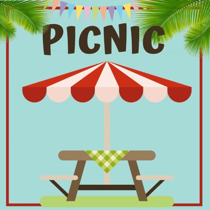 picnic Instagram Post template