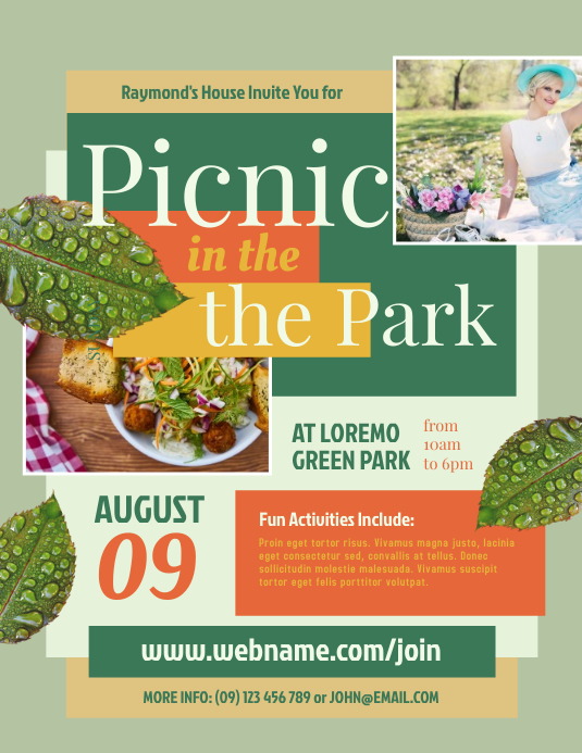 Picnic in the Park Flyer