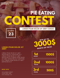 Pie Eating Contest Flyer Template