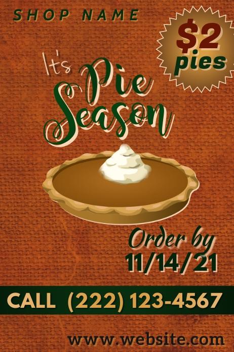 Pie Season Poster