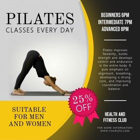 Pilates Class Advertisement Instagram Video
