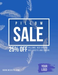 Pillow Sale falling feathers video