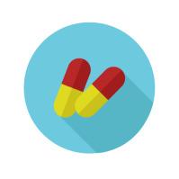Pills Logo template