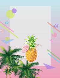 pineapple luau aloha party