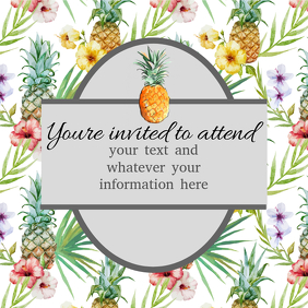 pineapple party summer event
