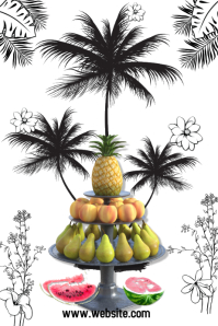 pineapple/tropical fruits
