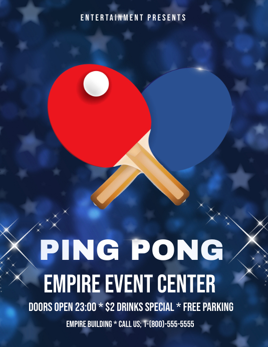 Copy Of Ping Pong Postermywall