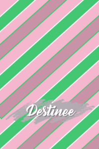 Pink, Green & White Cellphone Wallpaper