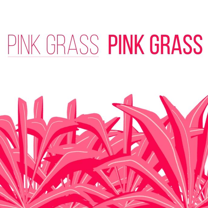 Pink album cover template Pochette d'album