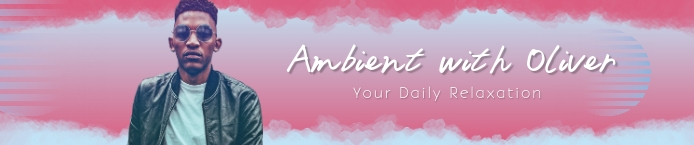 Pink Ambient Relaxation Playlist Soundcloud B template