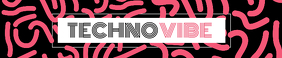 Pink and Black Techni Vibe Soundcloud Banner template