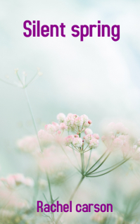 pink and white flowers in tilt shift lens Обложка Kindle template