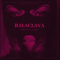 PINK BALACLAVA Mixtape Cover Art Template