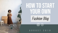 Pink Fashion Blog Header Blogkop template