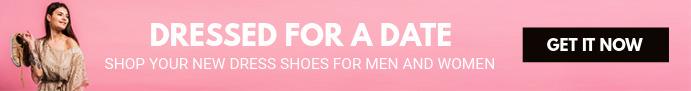 Pink Fashion Clothing Banner Spanduk Etsy template