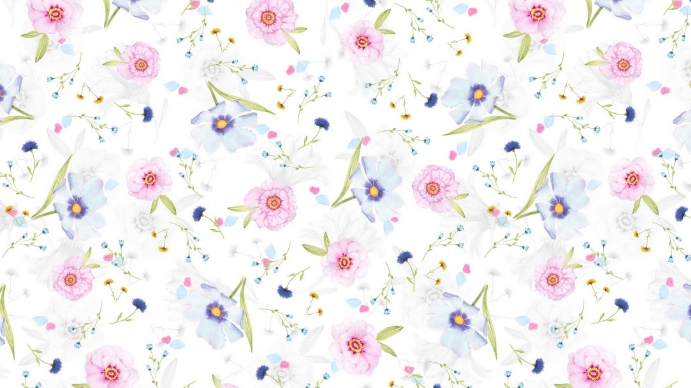 Latar Belakang Pertemuan Bunga Pink Templat   PosterMyWall
