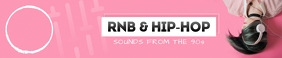 Pink Hip Hop Soundcloud Banner template