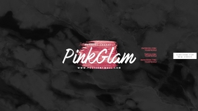 Pink Marble Glam Youtube Channel Art