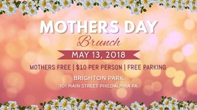 Pink Mother's Day Brunch Video Template