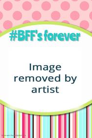 Pink Polka Dot Spring Friends Forever Fundraiser Event Flyer
