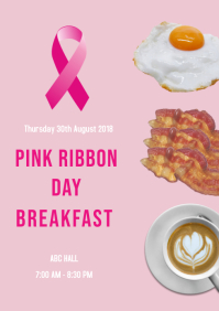 Pink ribbon Day breakfast