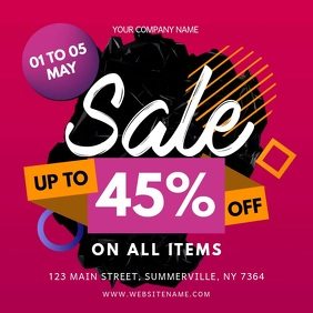 Pink Sale Offer Instagram Video