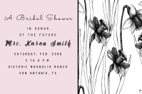Pink Thru Save the Date