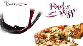 Pinot & Pizza Pantalla Digital (16:9) template
