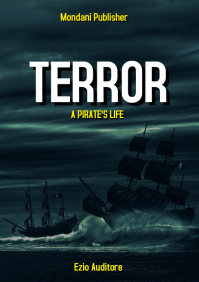 pirate life ship novel book cover A4 template