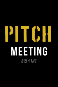 Pitch Meeting Poster template