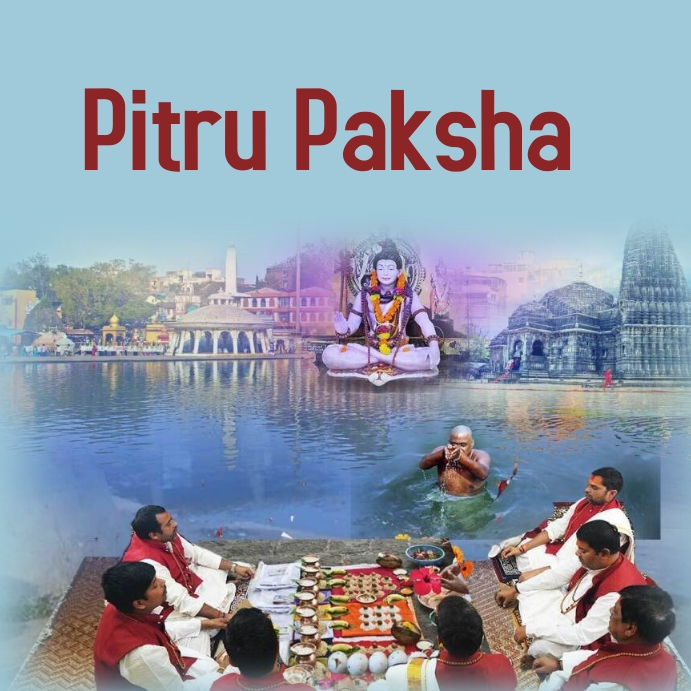 pitru paksha Instagram-opslag template