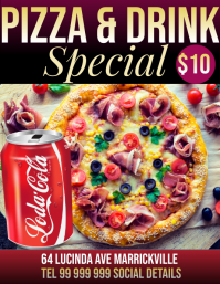 pizza & drink deal