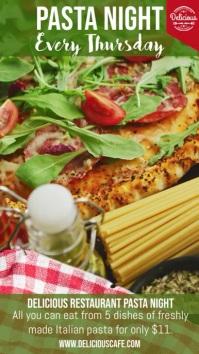 Pizza & Pasta Night Special Digital Template