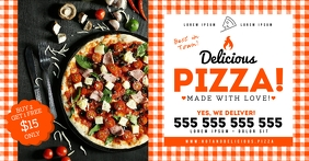 PIZZA BANNER Facebook Shared Image template