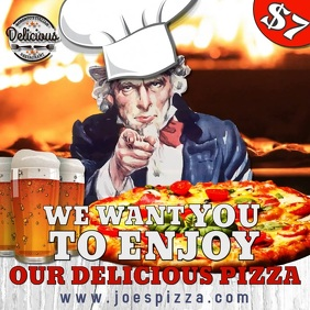 Pizza Bar Promo Video Template