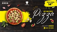 Pizza Cover Ads template