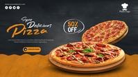 Pizza Cover Design template