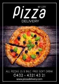 Pizza Delivery Special Restaurant Deal Ad