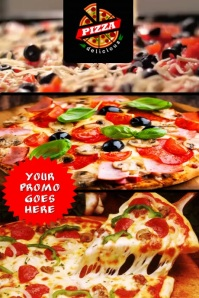 PIZZA Poster template
