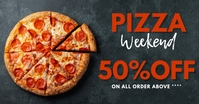 pizza Facebook-Anzeige template